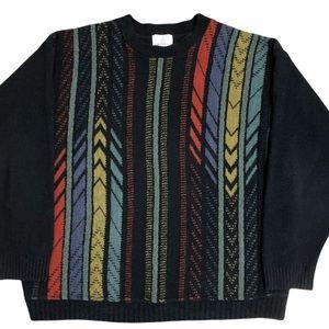 Vintage 80's London Fog Crew Neck Grandpa Sweater